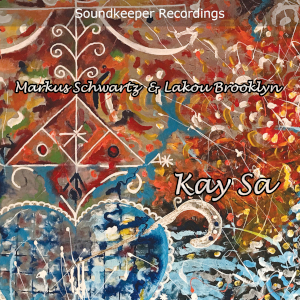 "Kay Sa album cover. Kay Sa - means ""This house"" in Haitian Kreyol. the lyrics "" Kay O, Kay Sa se kay lwa mwen"" mean ""this house is the house of my spirits."" It invokes the familial/ancestral spiritual energies."