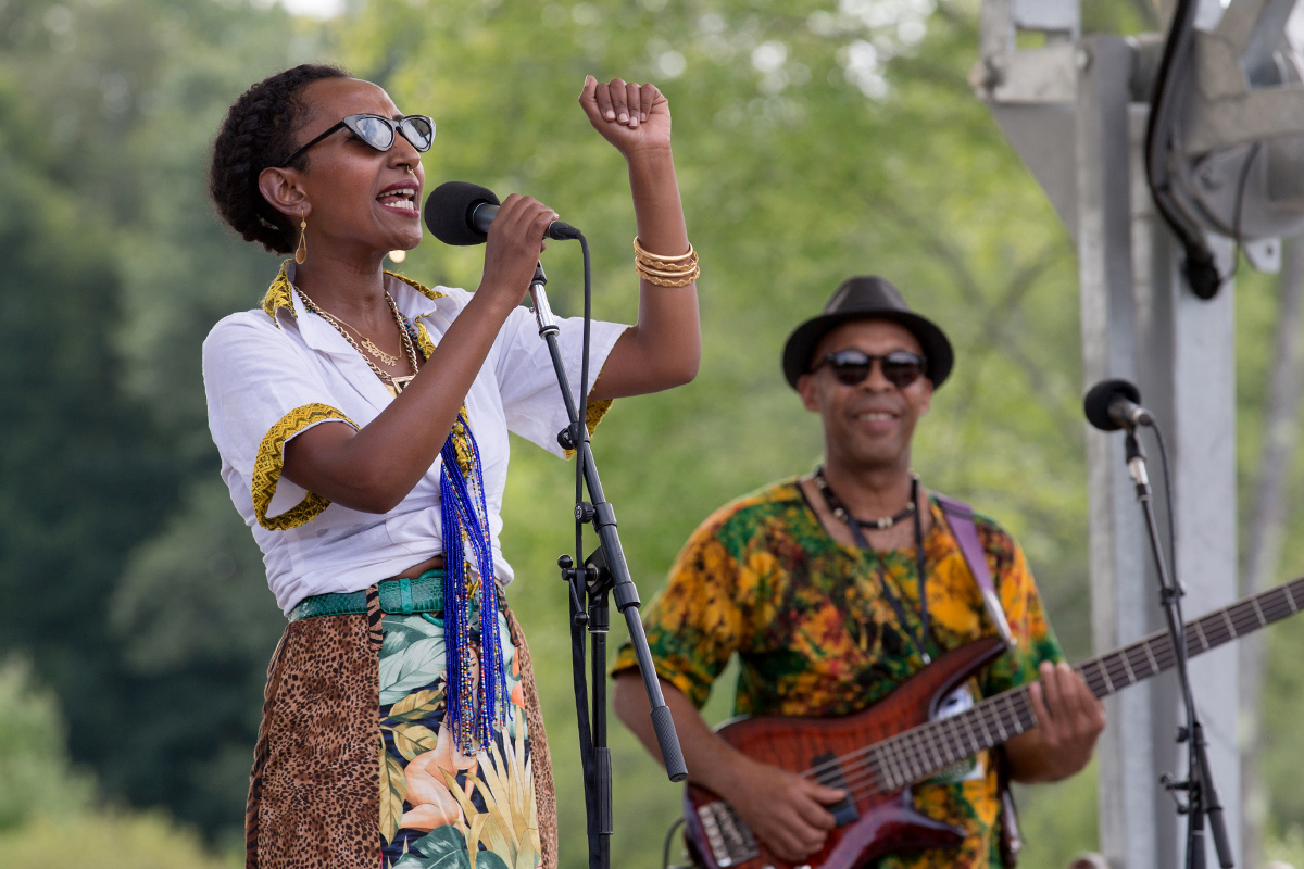 Alsarah and bassist Mawuena Kodjovi