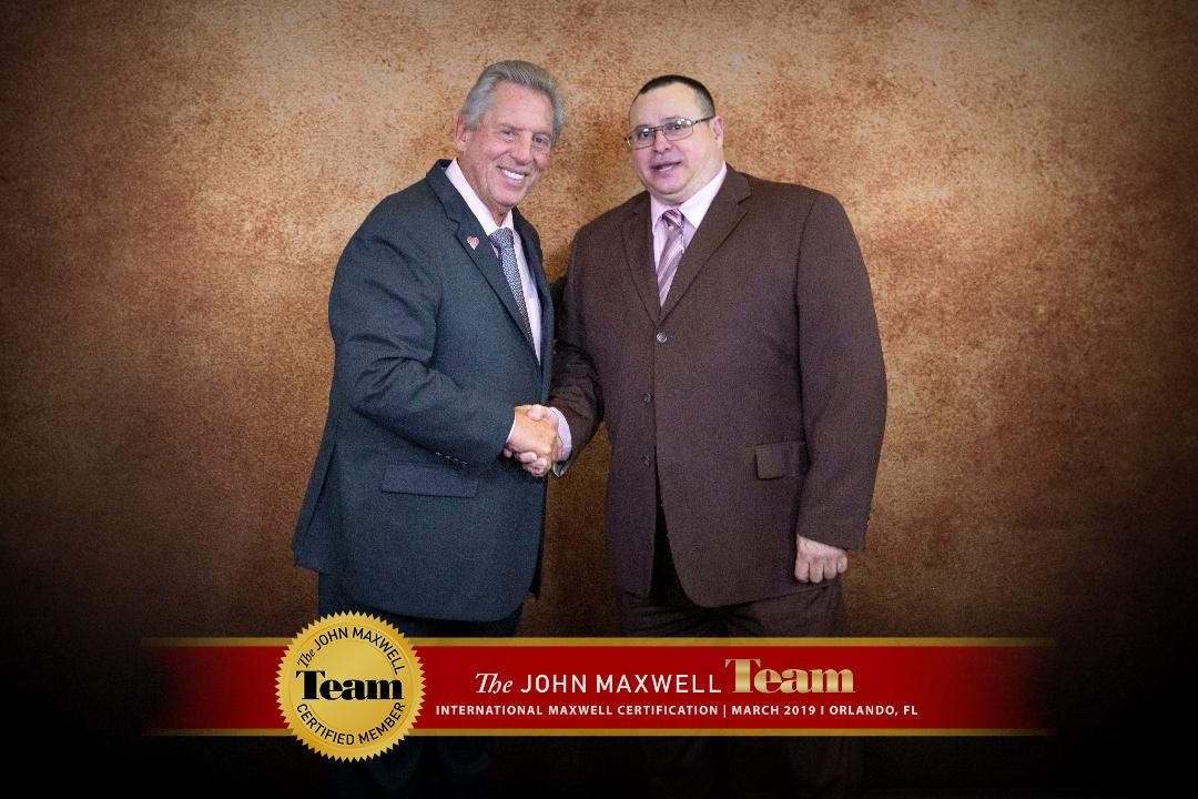 John C Maxwell & Jesus M Perez - An Independent Certified Coach, Teacher, Trainer and Speaker with The John Maxwell Team