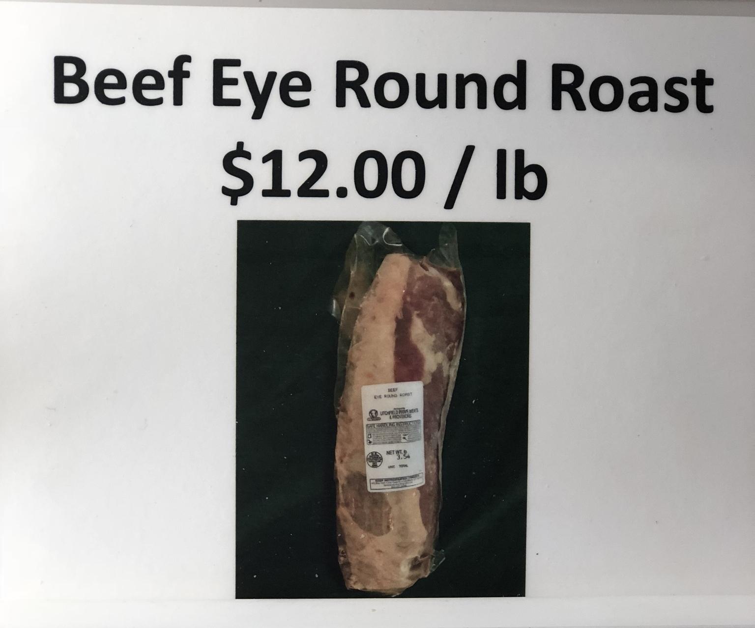 Beef Eye Round Roast