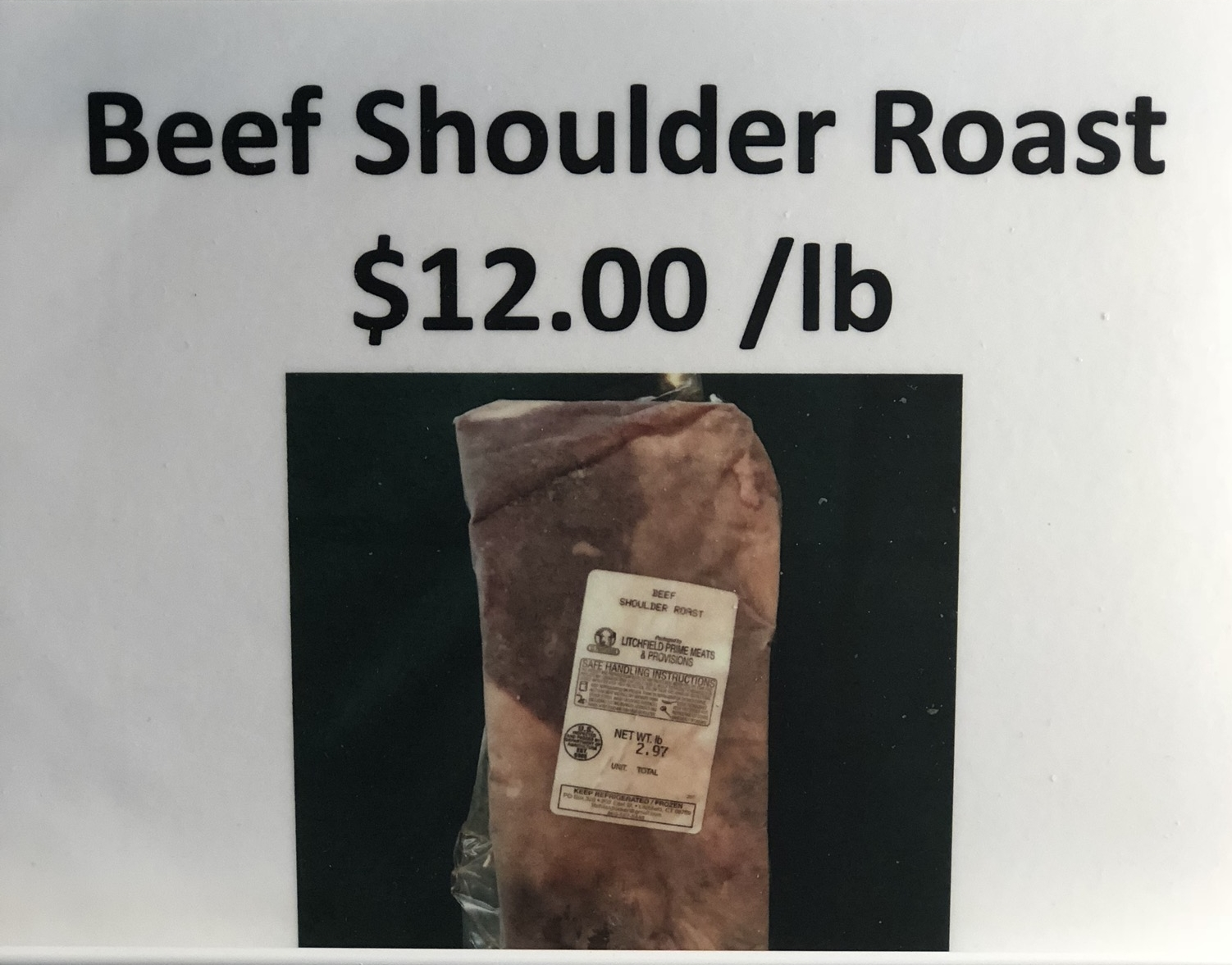 Beef Shoulder Roast