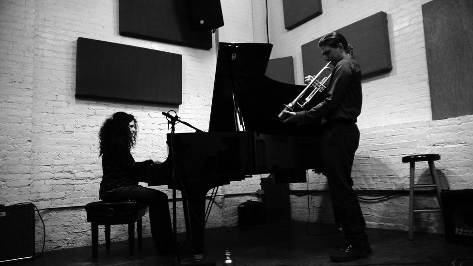 Ryan Messina & Carol Liebowitz. Ibeam, April 3, 2015