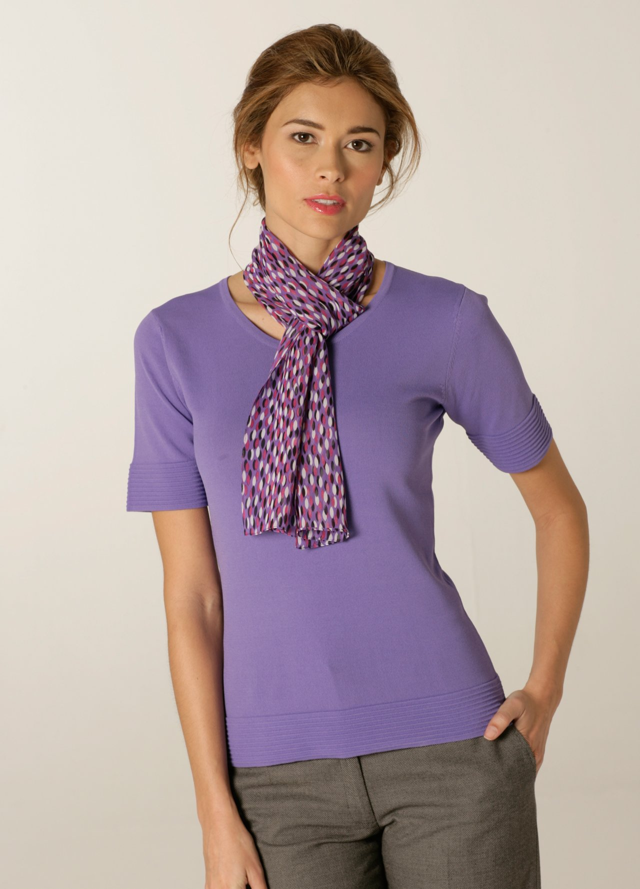 Ties, cravats and scarves can all be ordered in your corporate colours.