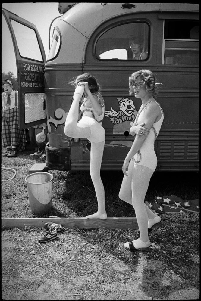 Circus warm-up