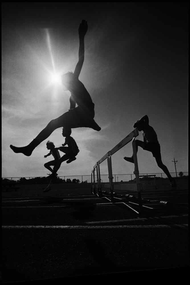 Hurdler Ballet