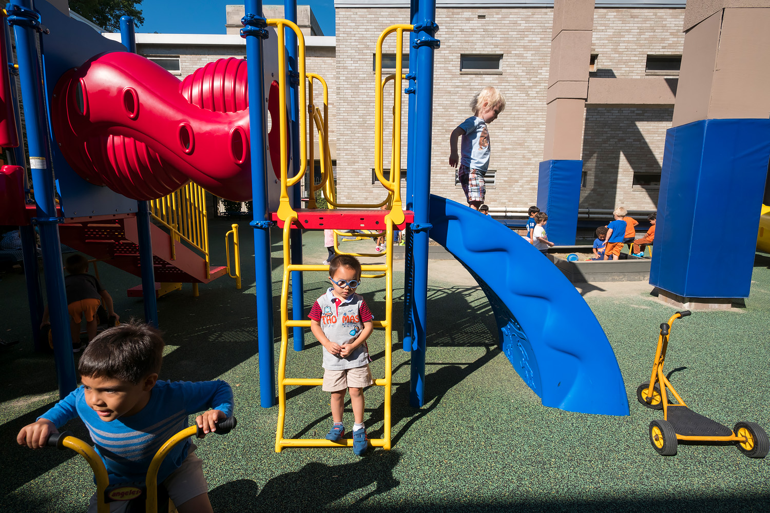 Recess at St. Edmund's Academy, Pittsburgh