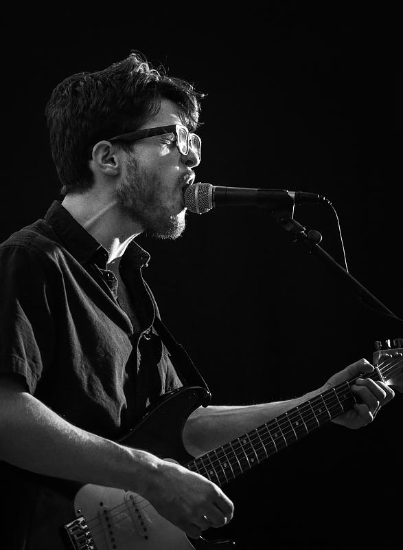 Zack Keim, lead singer of the Nox Boys