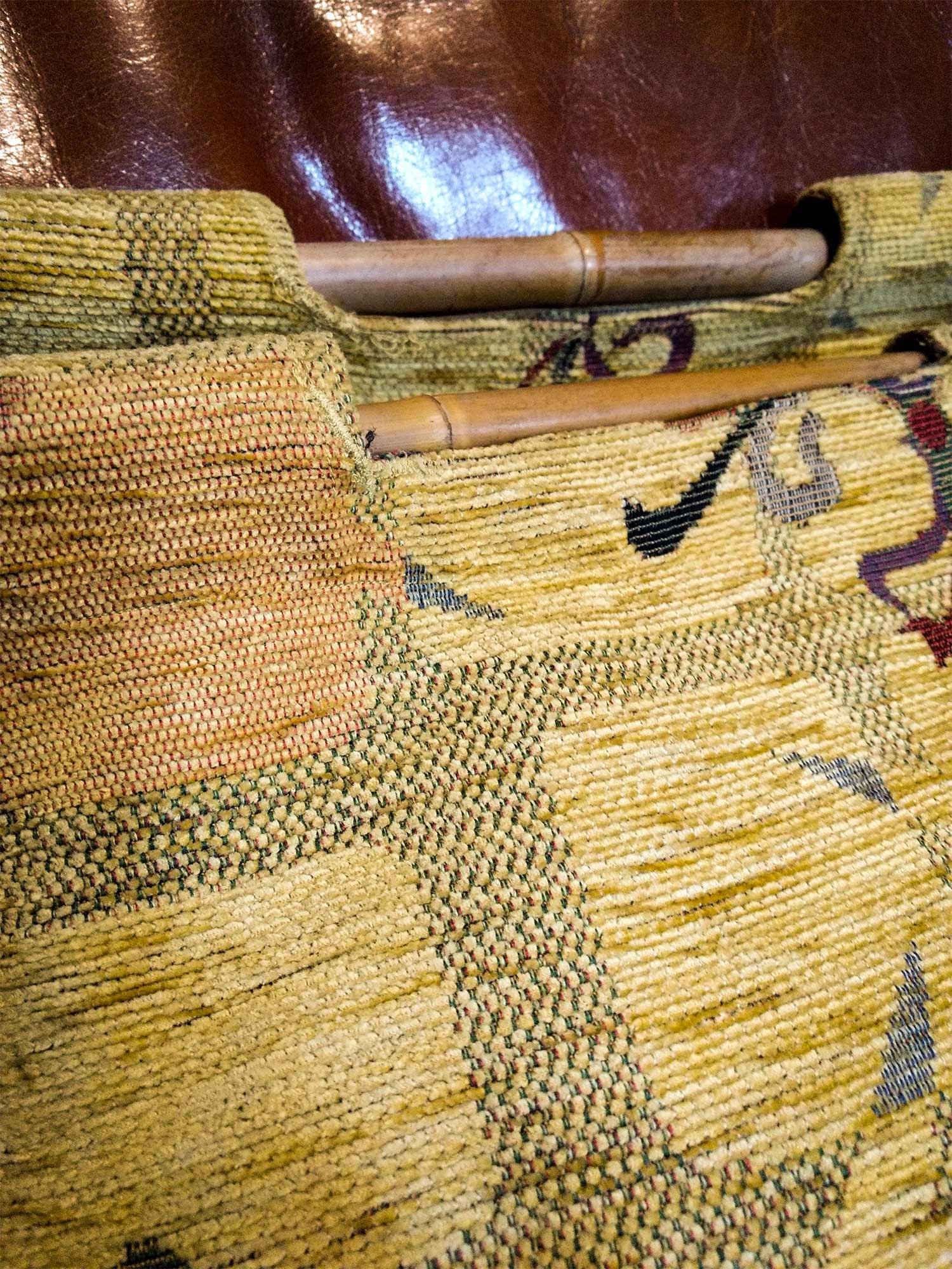Shopping bag Annabel Textiles detail
