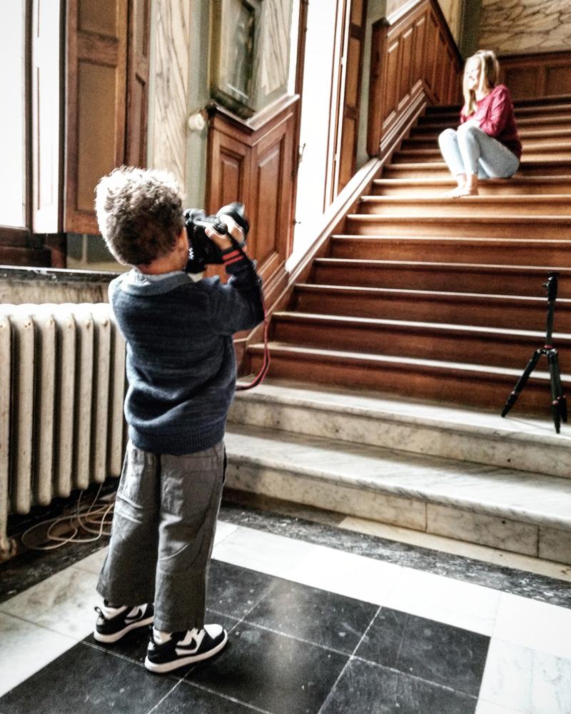 Daouda als fotograaf