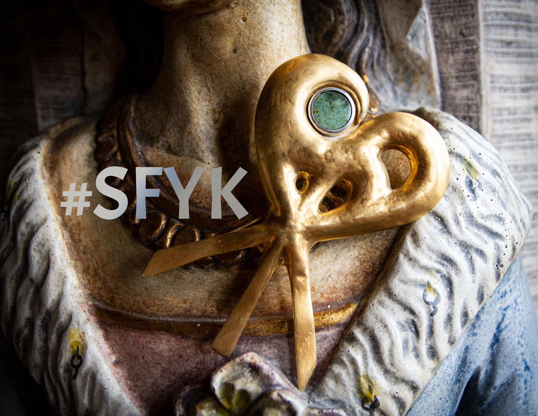 #SFYK brooch