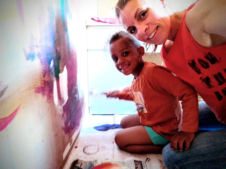 Samen schilderen!