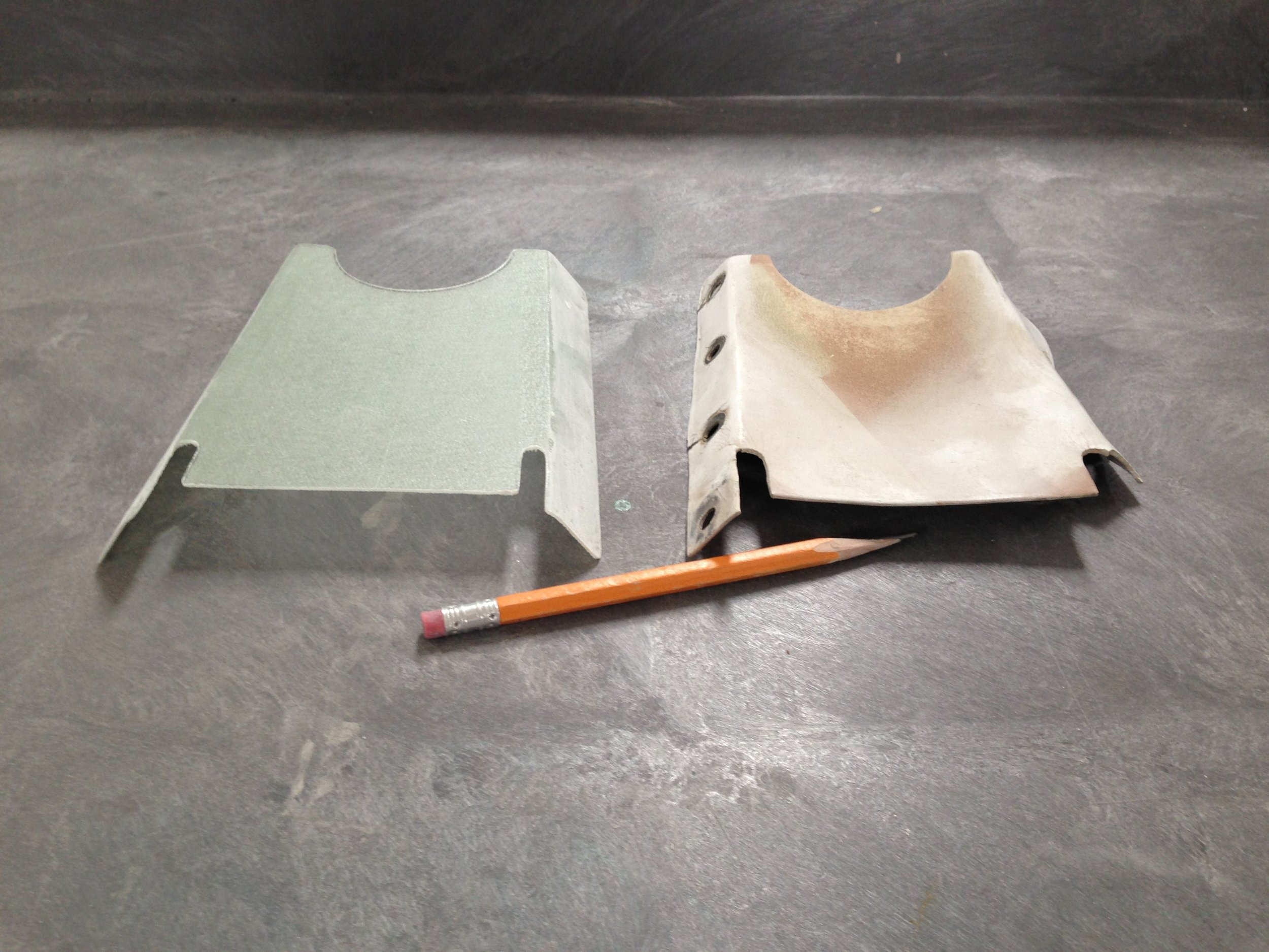 Beechcraft Baron B55 Cover Plate Production