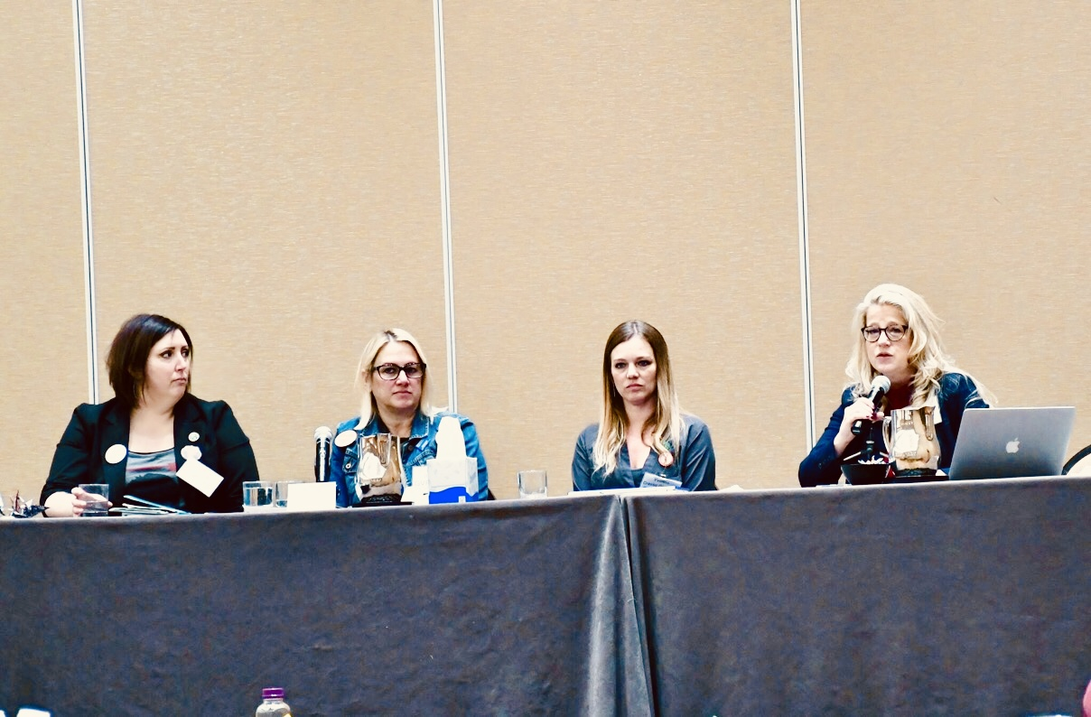 Domestic violence educational panel, GVPedia conference, Denver, CO 2019