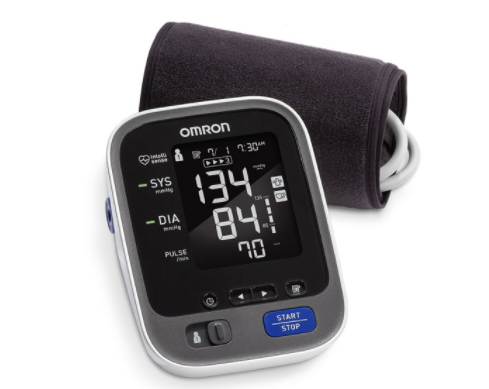 Picture of the Omron 10 Series blood pressure monitor