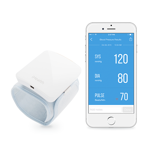 picture of the iHealth® Blood Pressure Monitor