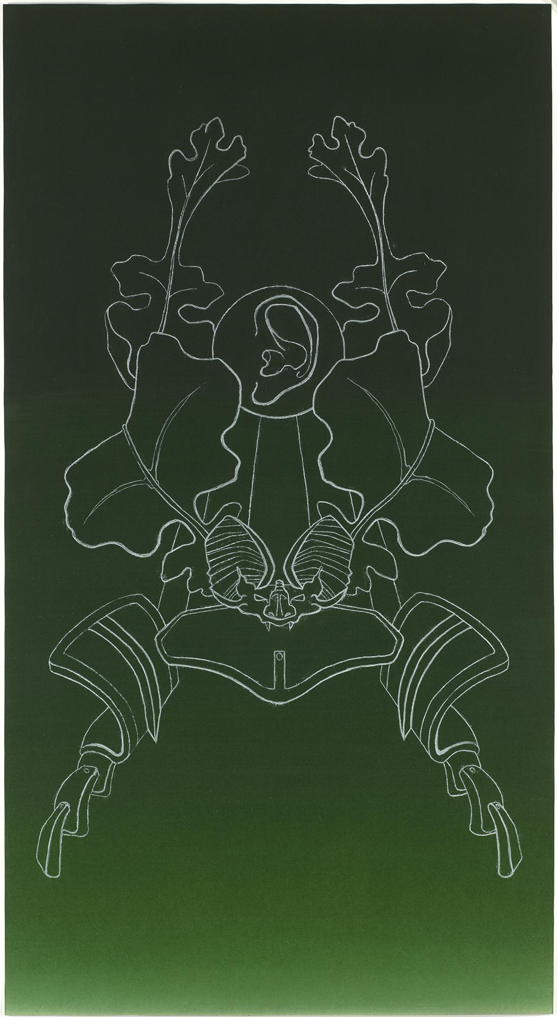 Samurai Helmet #11, 1990