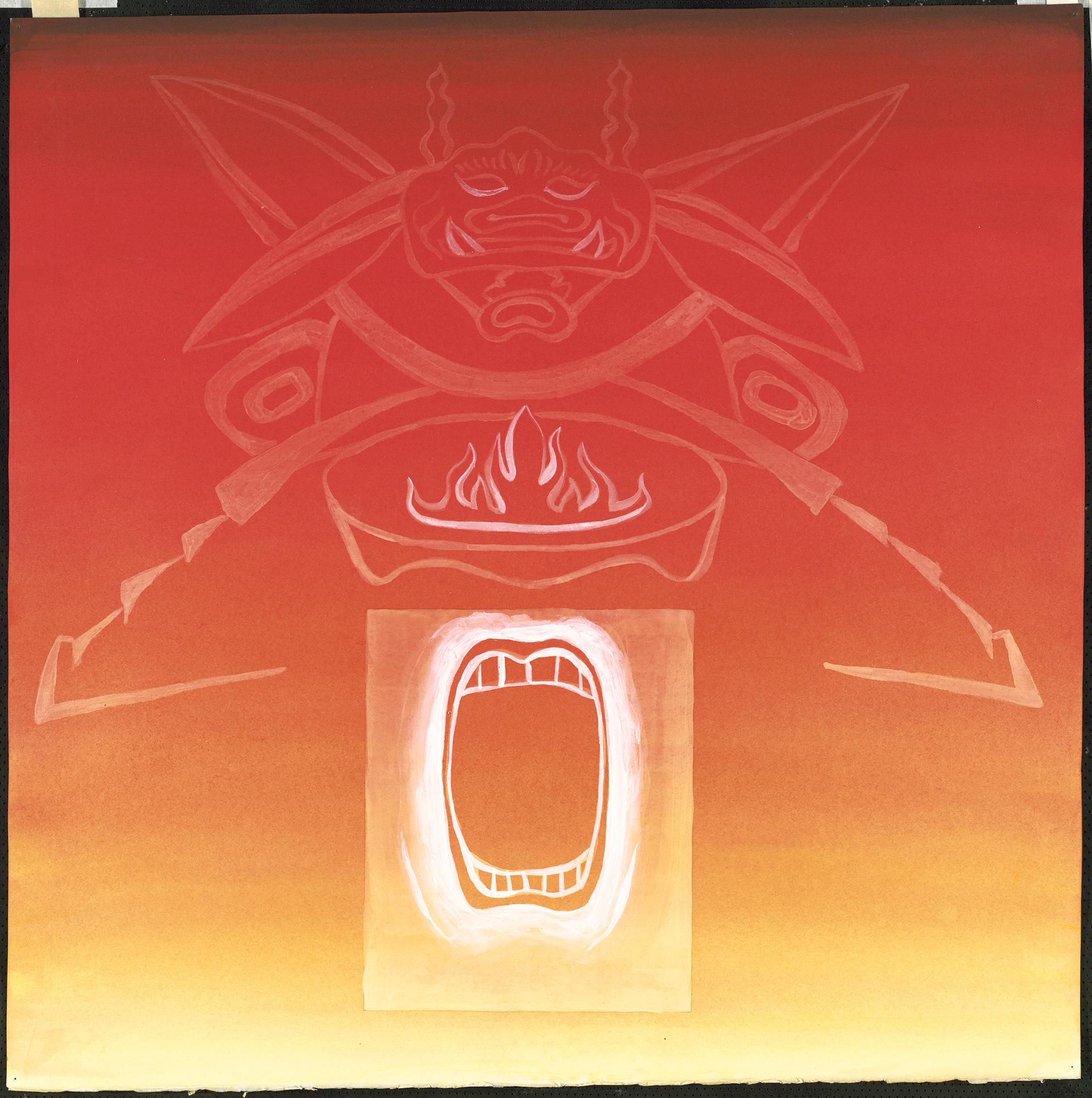 Power in Storage: Mask #1, 1989