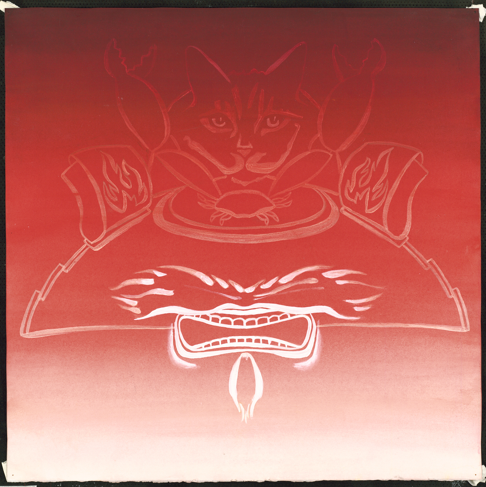 Power in Storage: Mask #3, 1989
