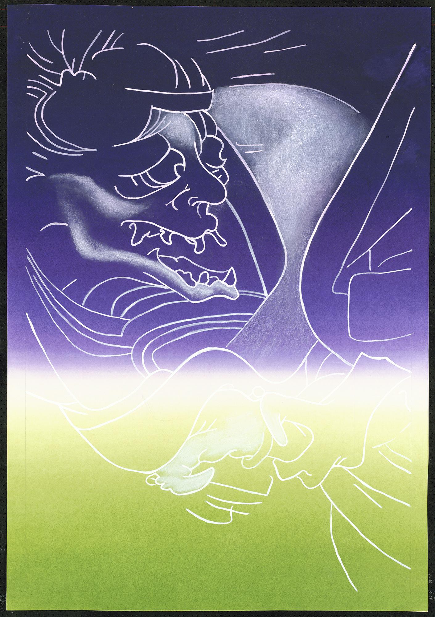 Ghosts and Demons: Karasu Tengu, 1989