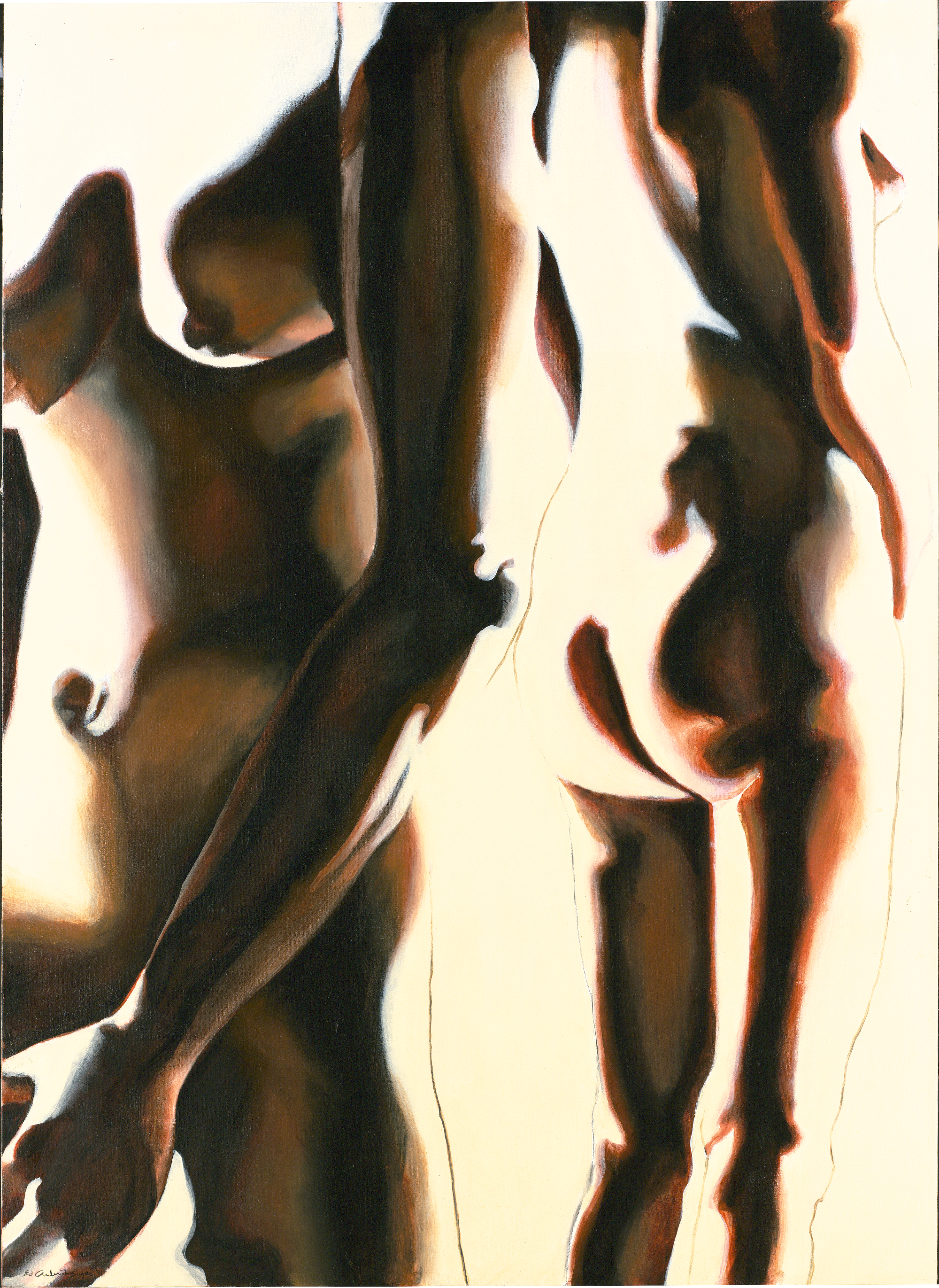 Figures: Repose Ascending Figures Study #3, 1991