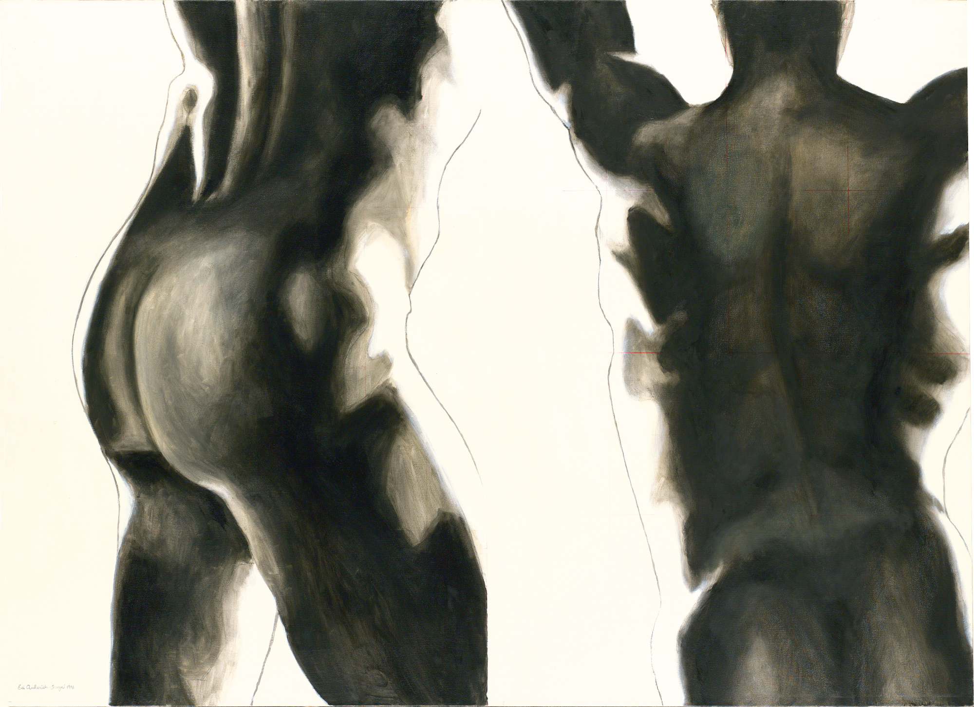 Figures: Joy Ascending Figure Study #1, 1991