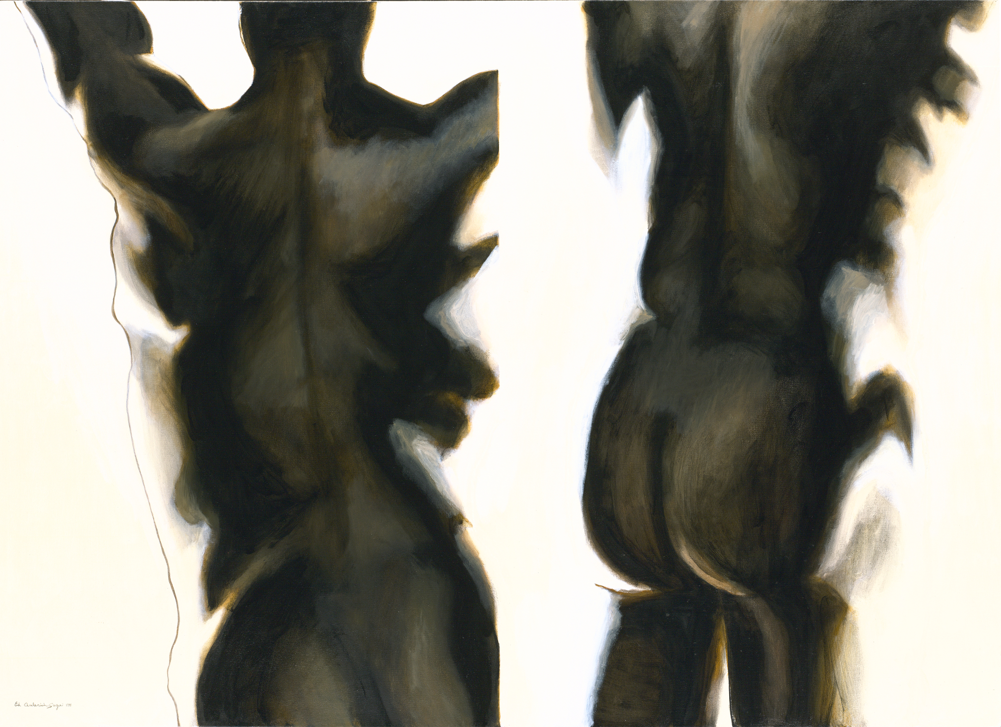 Figures: Joy Ascending Figure Study #2, 1991