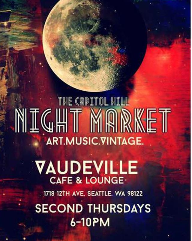 Save the date! We're playing this event on Thursday, June 13th as part of @capitolhillartwalk  Details to come! #musicandart 🖤