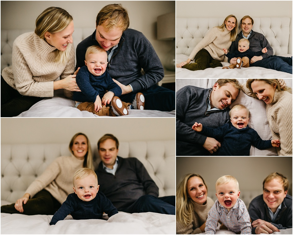 FAMILY SNUGGLE SESSION IN HOME FAMILY PHOTOS COZY AND WARM