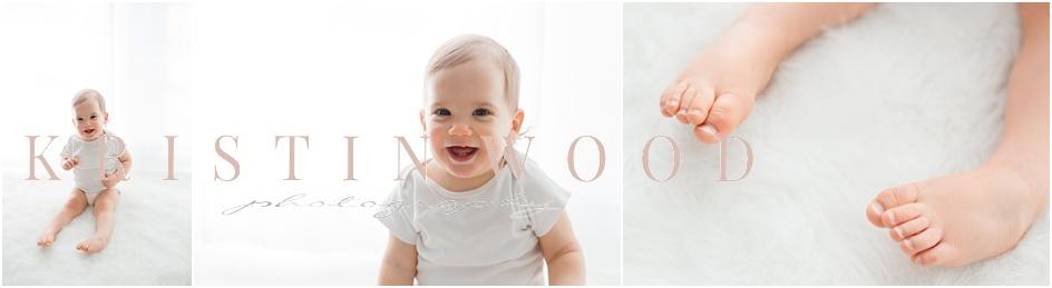 Baby boy studio portraits CT baby photographer