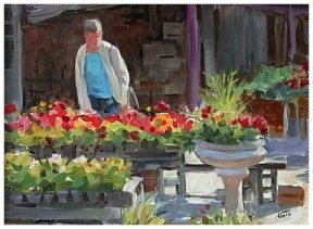 - Rebecca Patman Chandler, well known N.C. artist, works in a variety of mediums including oils, watercolor and pastels as well as a variety of genres. Her landscapes, still life and portraits can be found in private collections and institutions throughout the U.S.