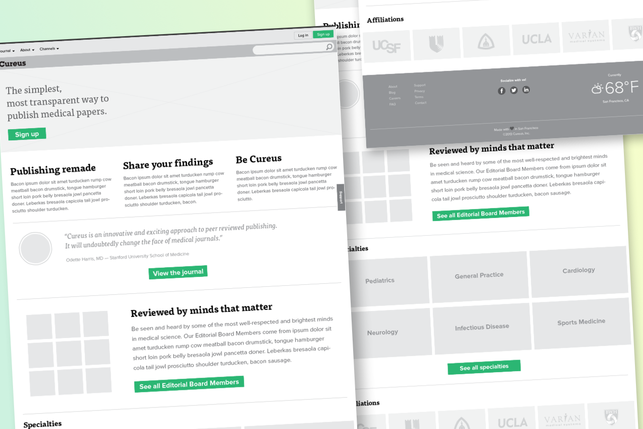 Cureus 2013 Home Page Wireframe.png
