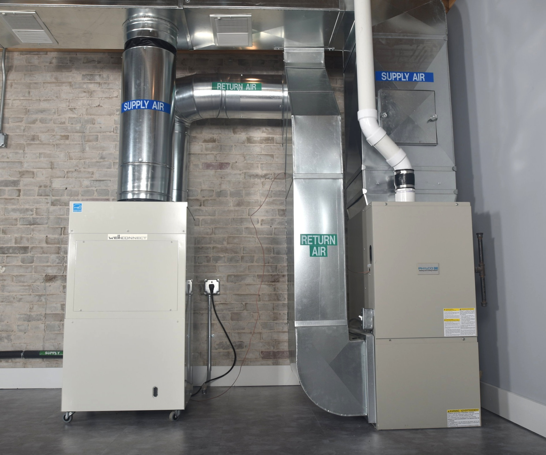 Well-Connect Hybrid Geothermal - Save money by going green!