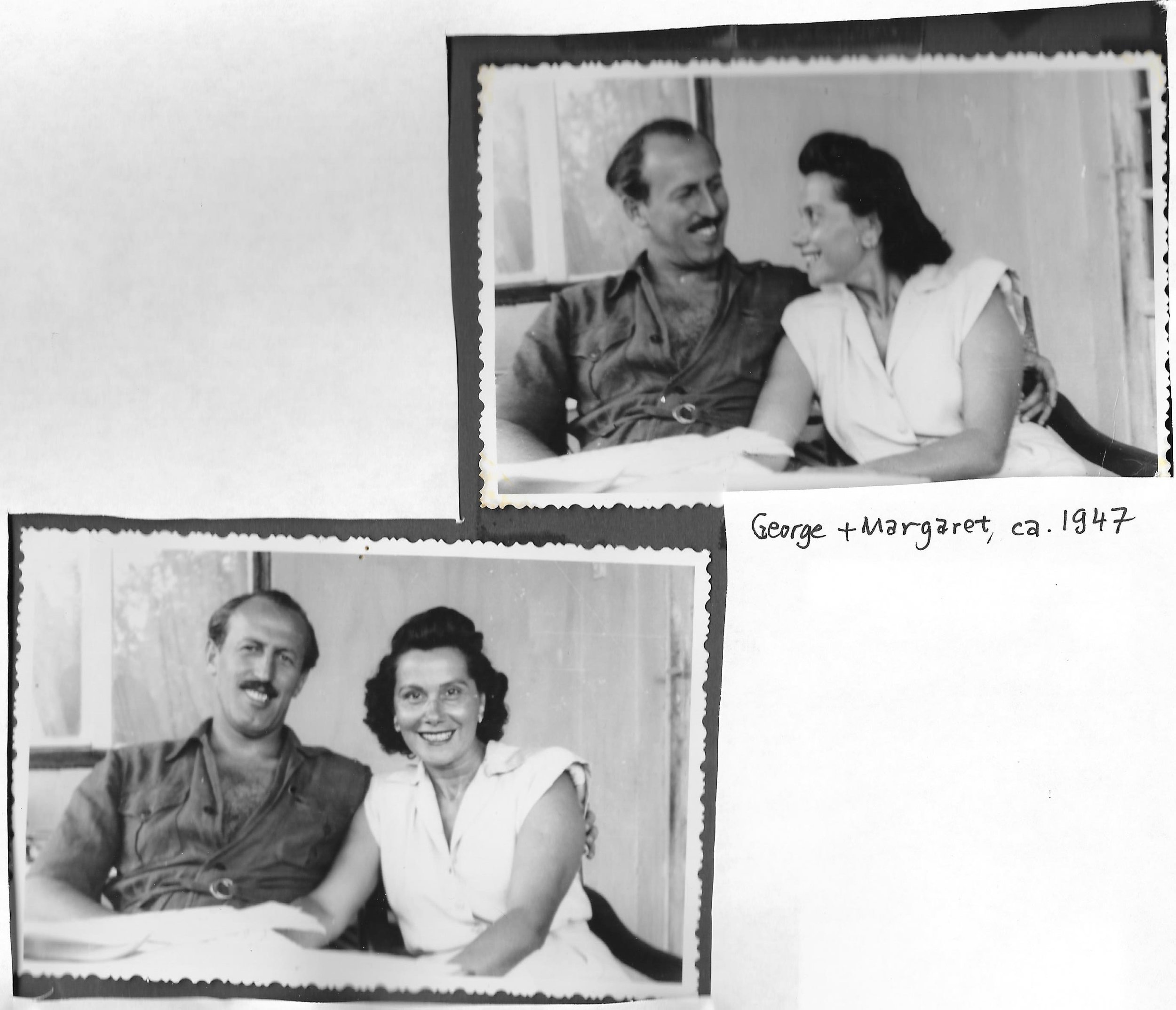 Grandma and Grandpa Batki -