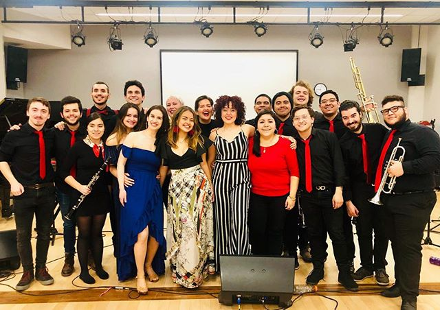 I had a blast a few day days ago, performing at the Berklee Latin Music Festival with amazing musicians.