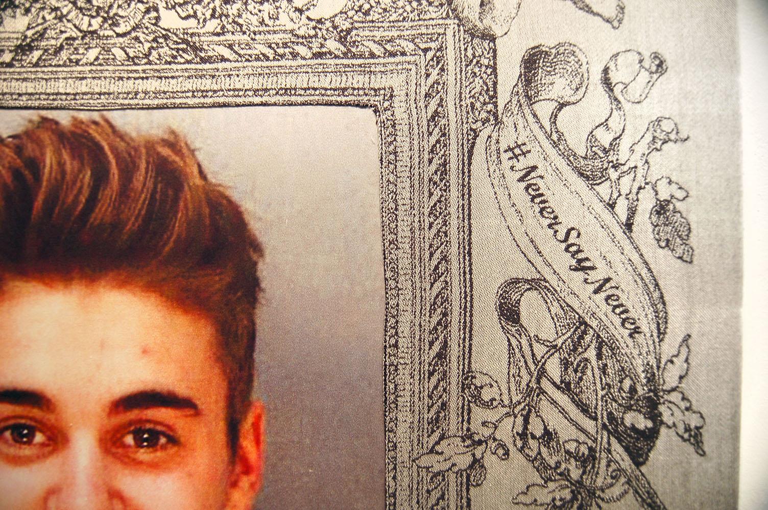 #Justin, detail