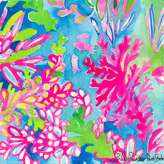 Lilly 5x5 - Pink Coral