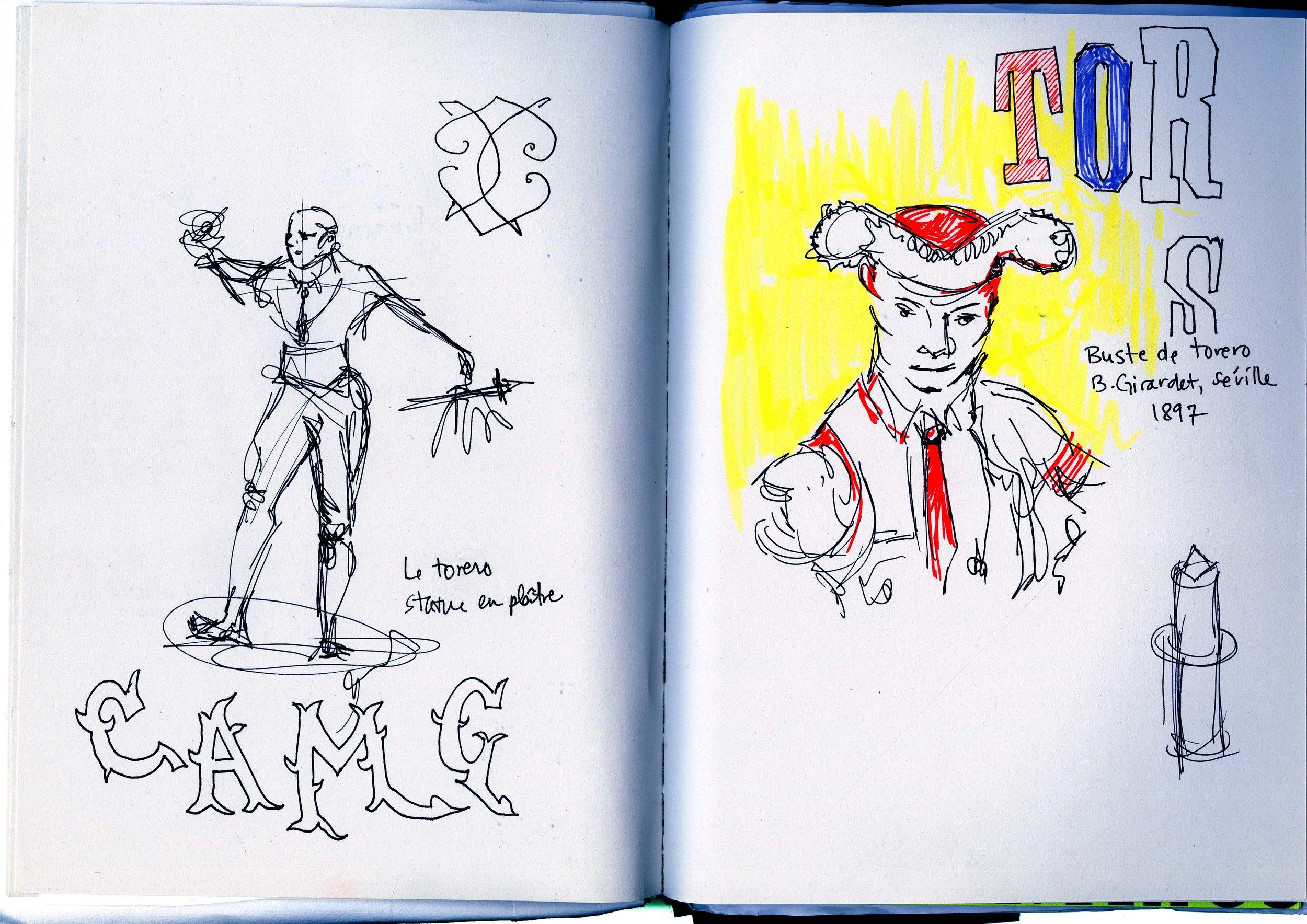 France Sketchbook