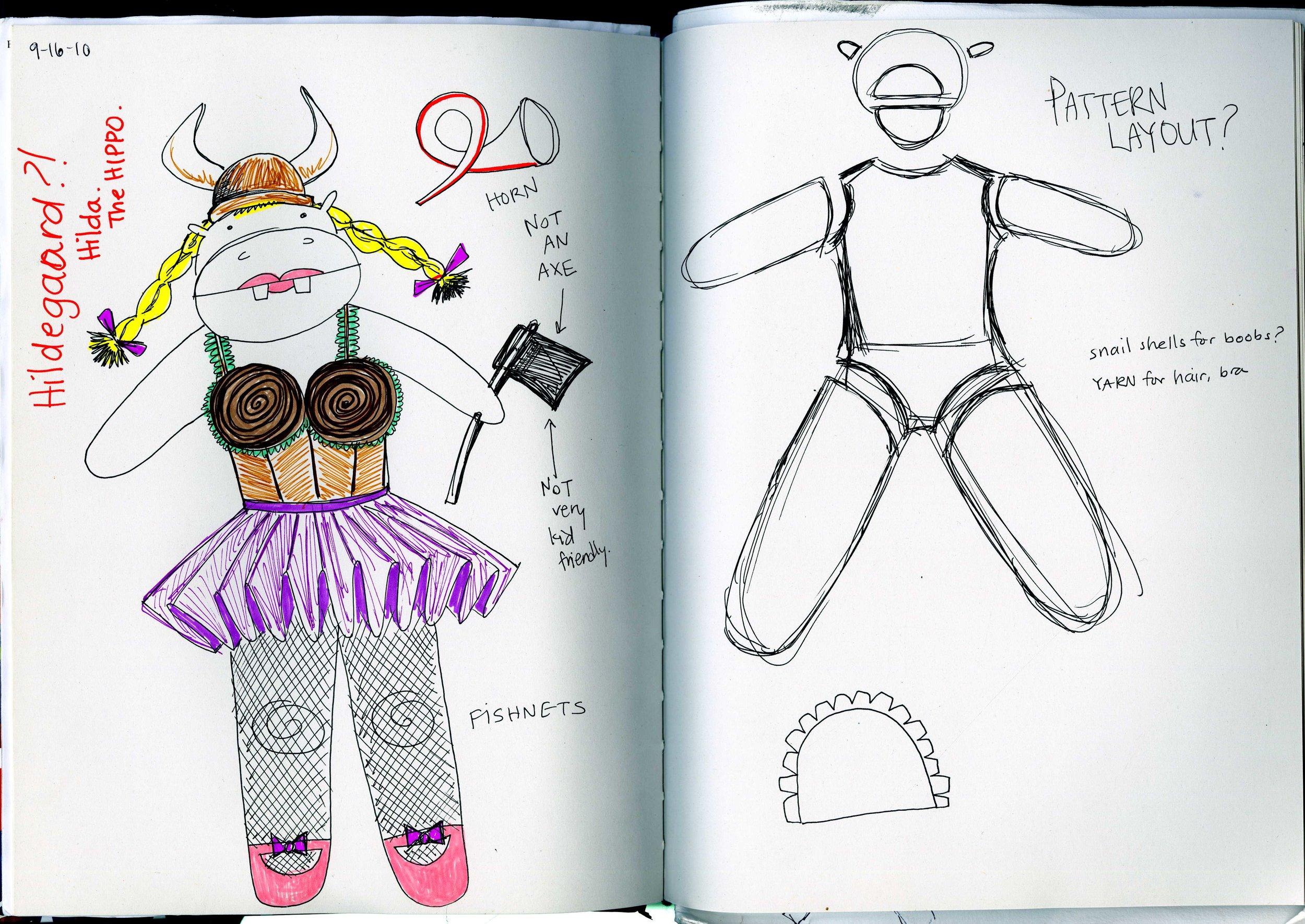 Printmaking Sketchbook