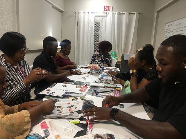 Flash back to January when I hosted a pop up vision board party! So much fun! I have already crossed of a quite a few items off of my vision board already!!!! Have you created a vision board for 2018? If not, why?