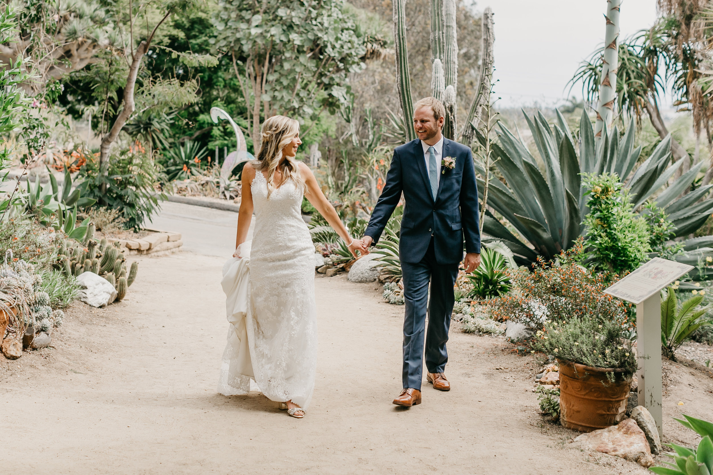 ASHLEY AND THOMAS / SAN DIEGO BOTANICAL GARDENS, SAN DIEGO CALIFORNIA WEDDING