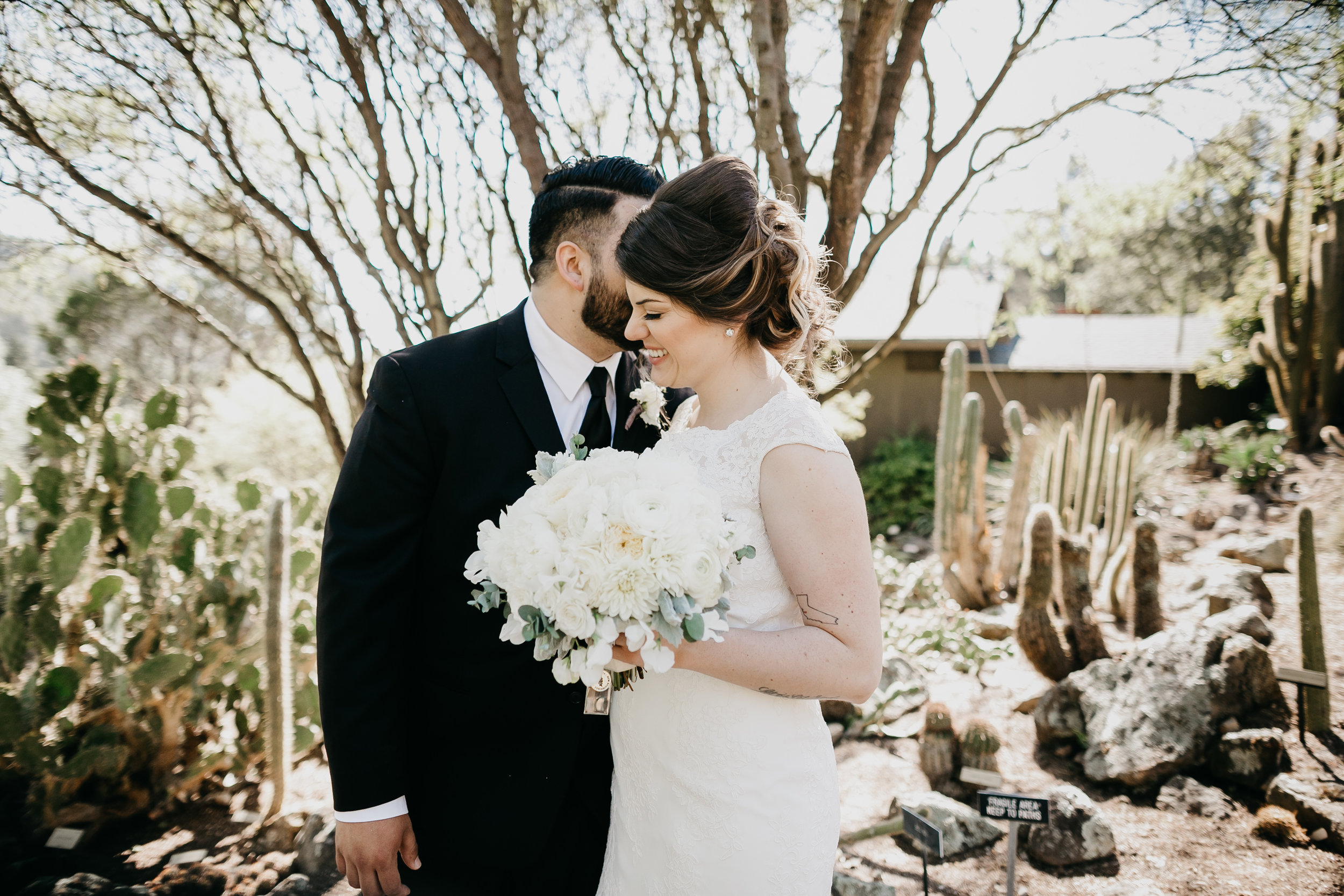 MEGAN AND LAZ / UC BERKELEY BOTANICAL GARDENS, BERKELEY CALIFORNIA WEDDING