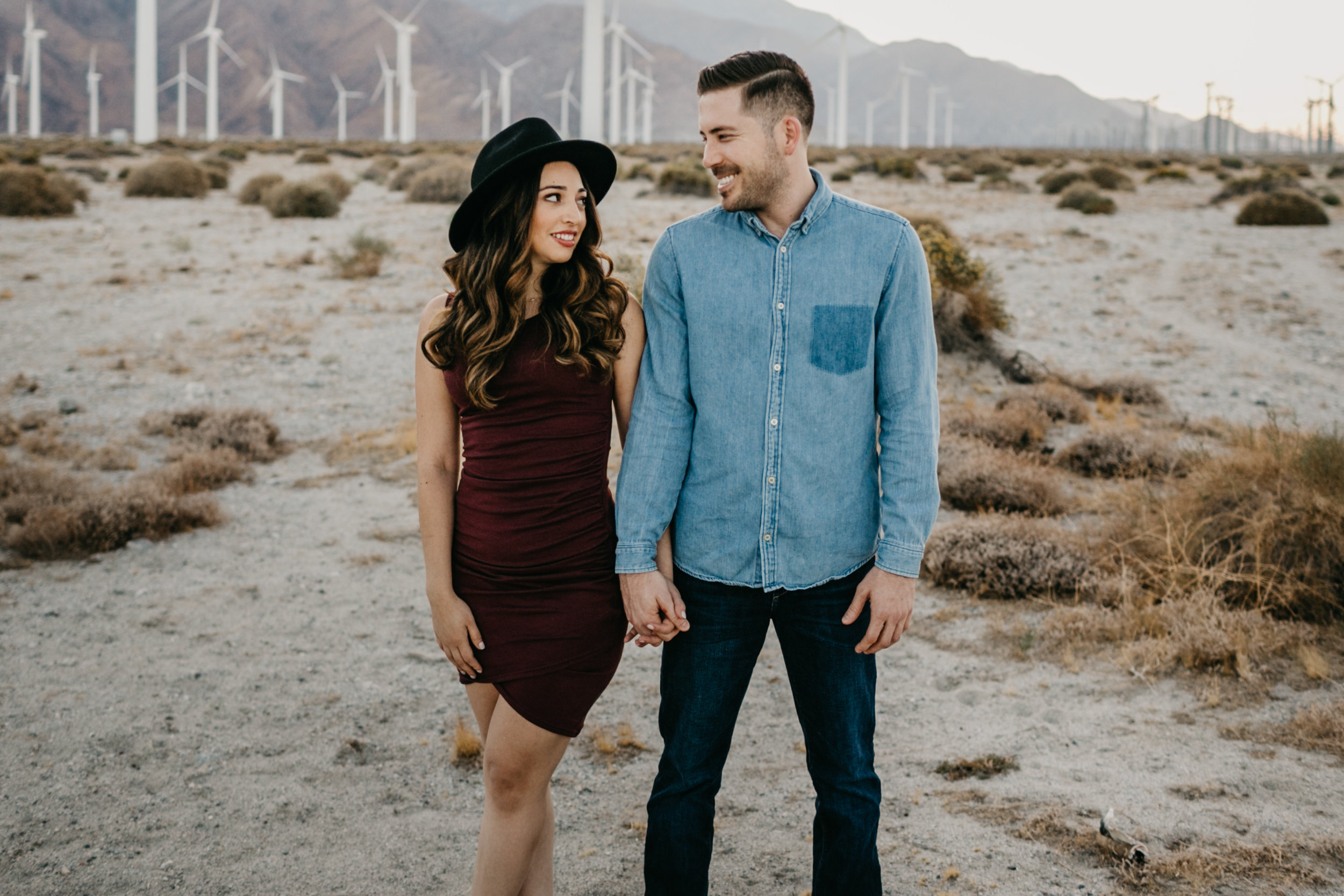 LAURICE AND NICK / THE ACE HOTEL PALM SPRINGS, CA ENGAGEMENT