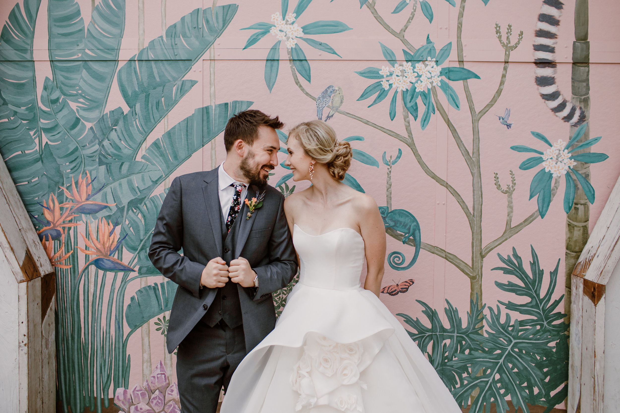 ALEX & JACKSON / THE VALENTINE, LOS ANGELES CALIFORNIA WEDDING