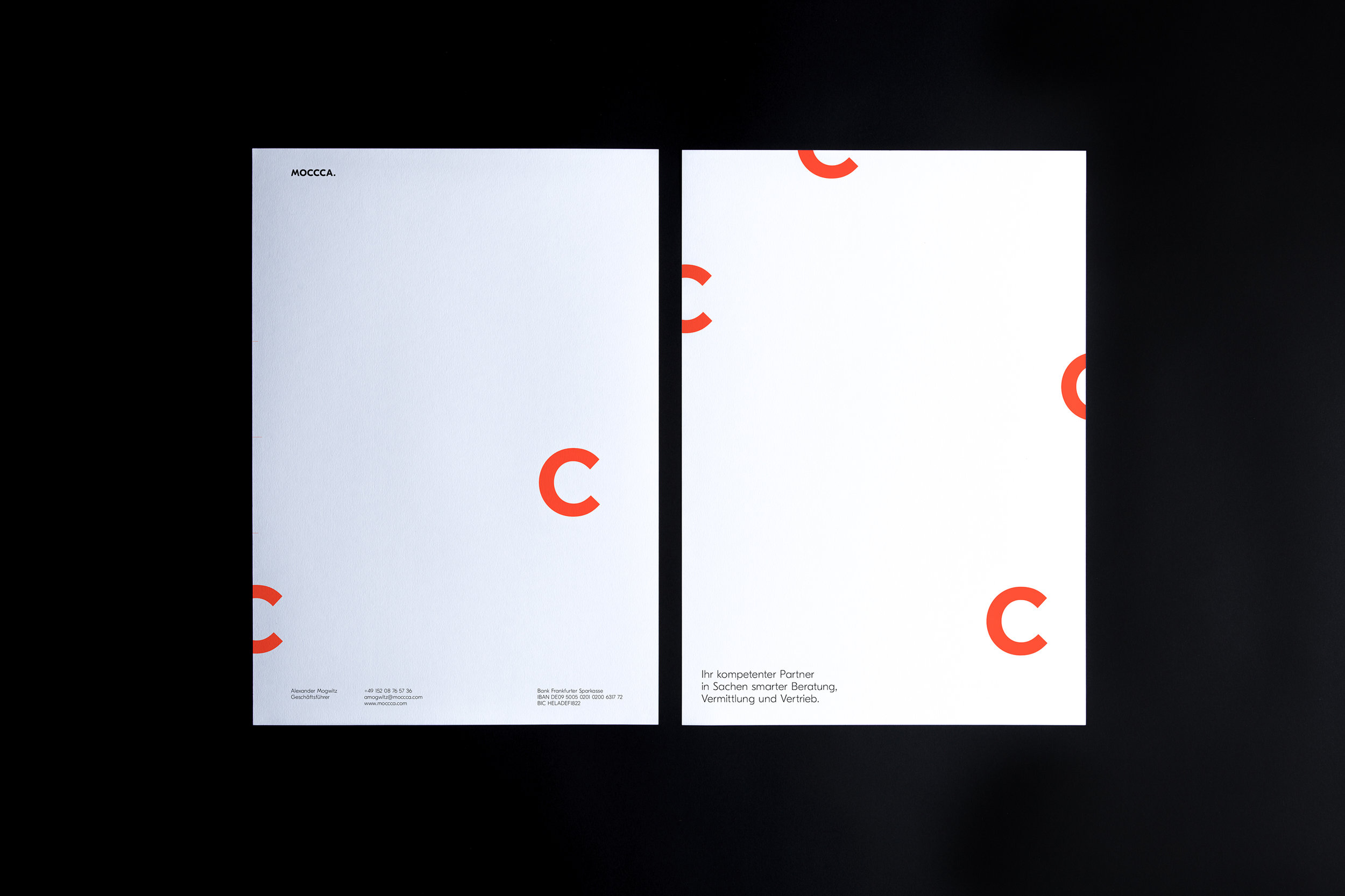 Custom Letterheads - Visit our customs process to order.