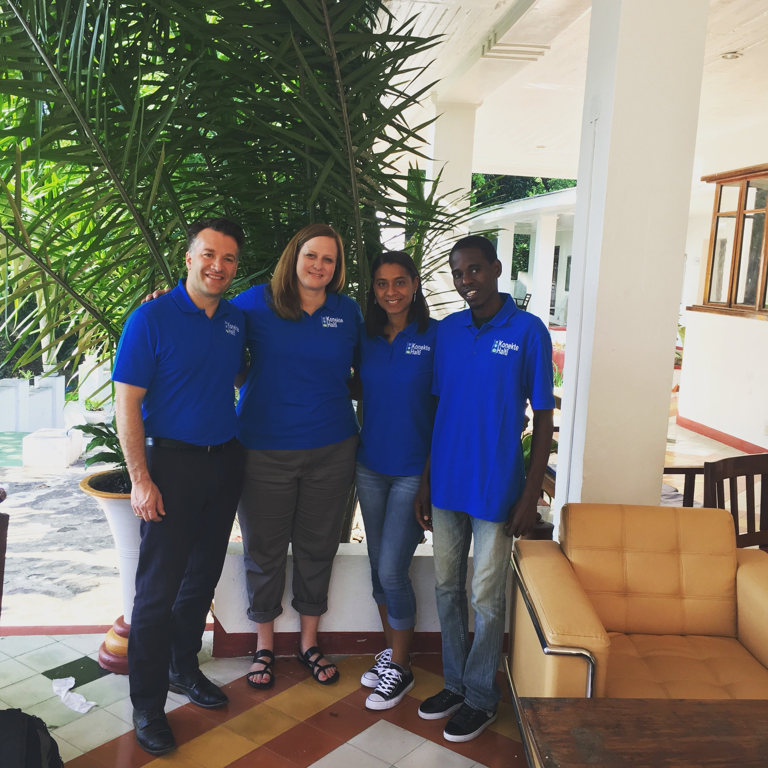 Konekte Haiti Team