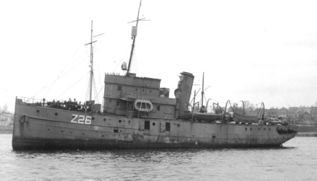 HMCS  Charny . Image from wrecksite.eu.