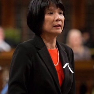 Oivia Chow (NDP) was one of the most vocal critics of the governments treatment of the  Orlova  situation.