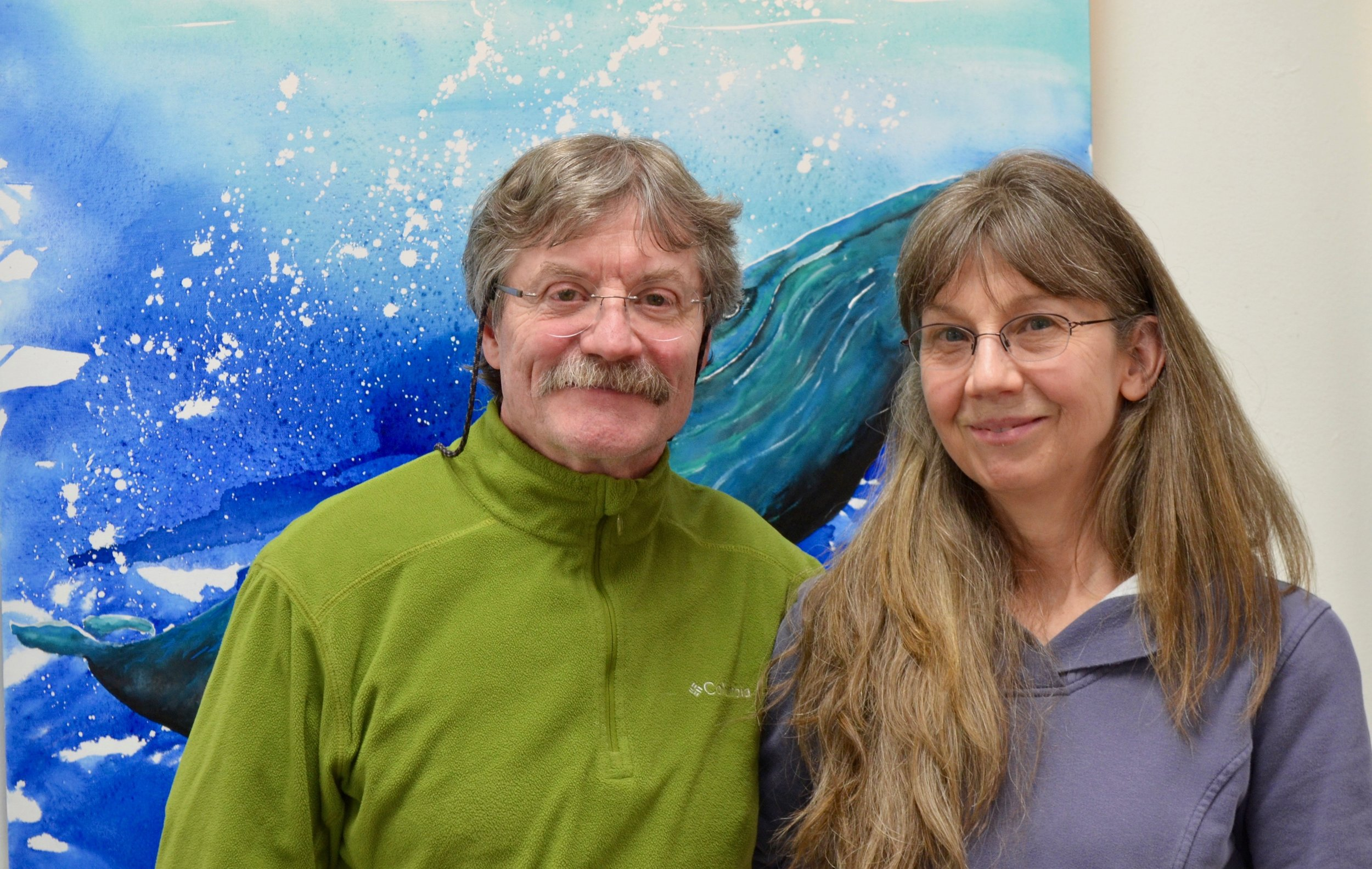 Herman and Paula Savikko at the JACC gallery, February 2018