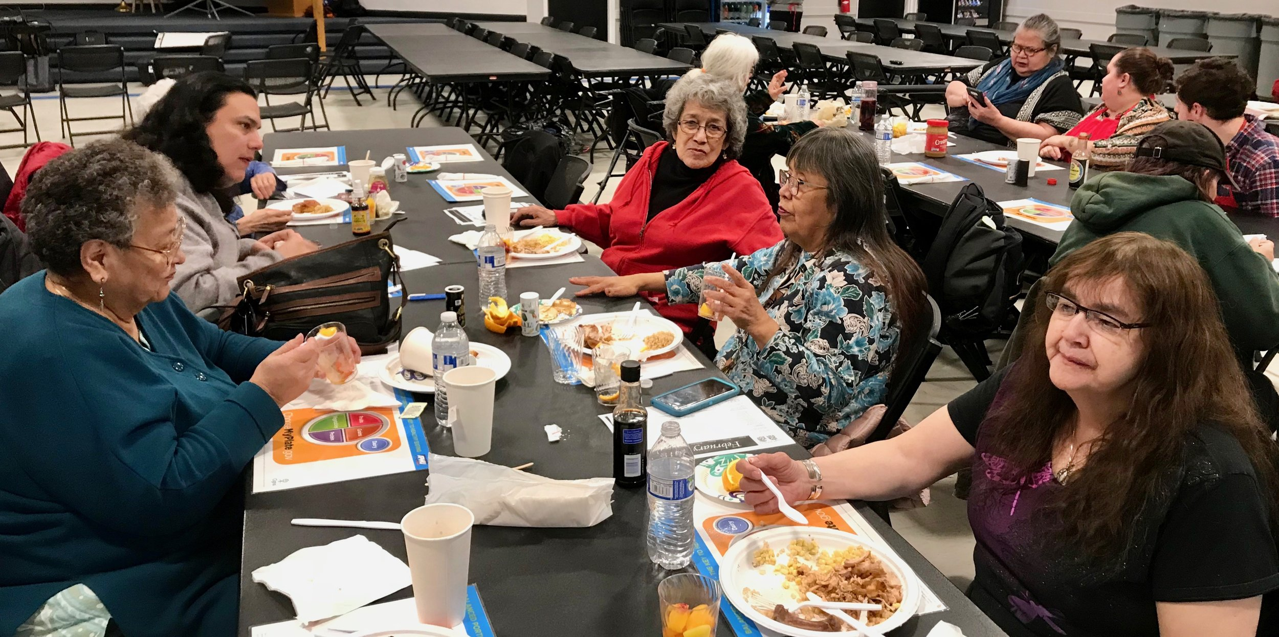 Elder's Lunch at Central Council Community Center, February 2018