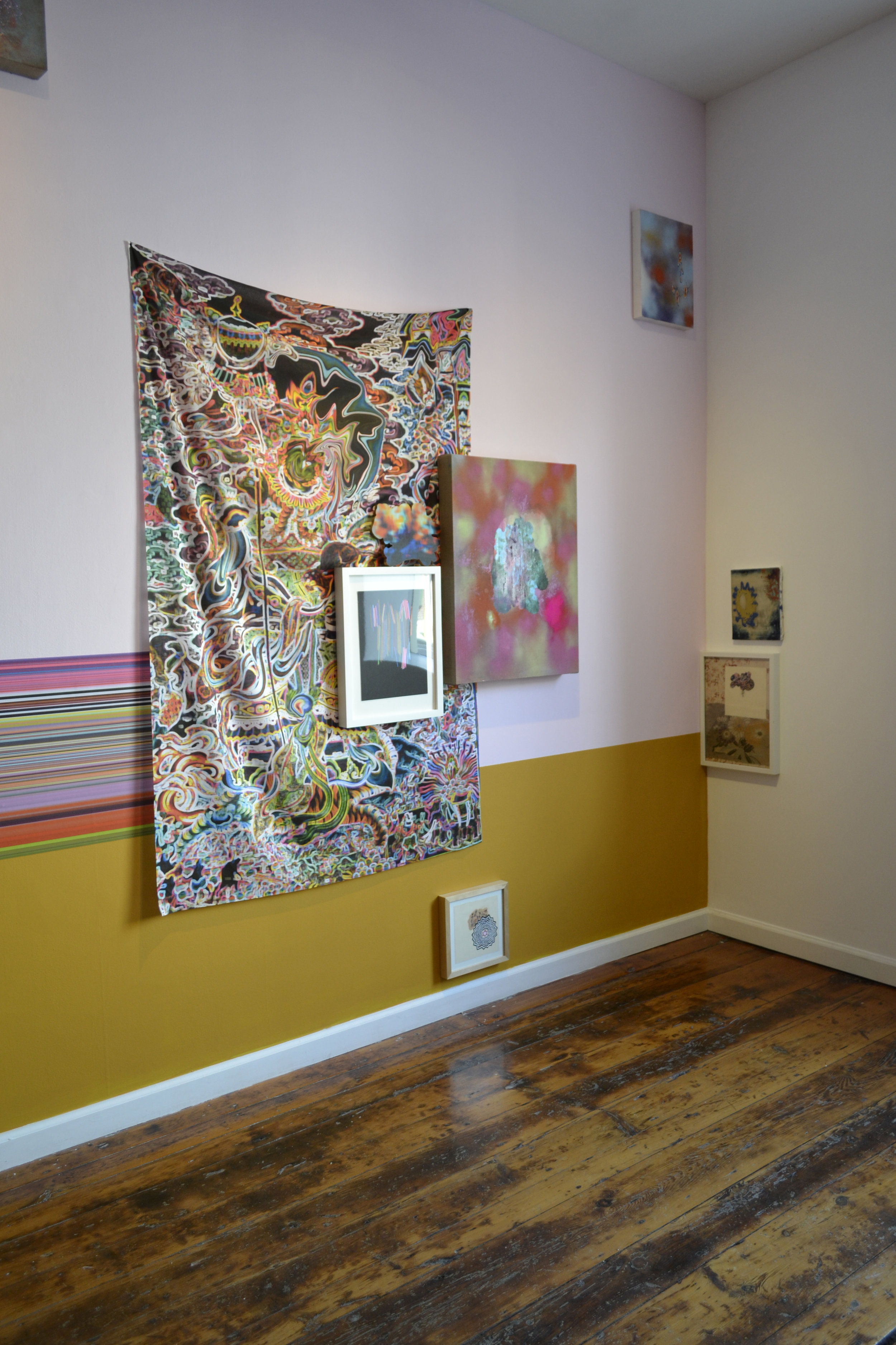 Pentimenti Installation View, 2015